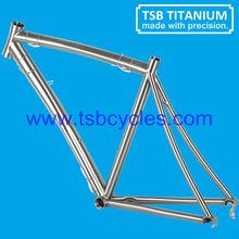 TSB-WQR1001 high performance titanium road bicycle frame