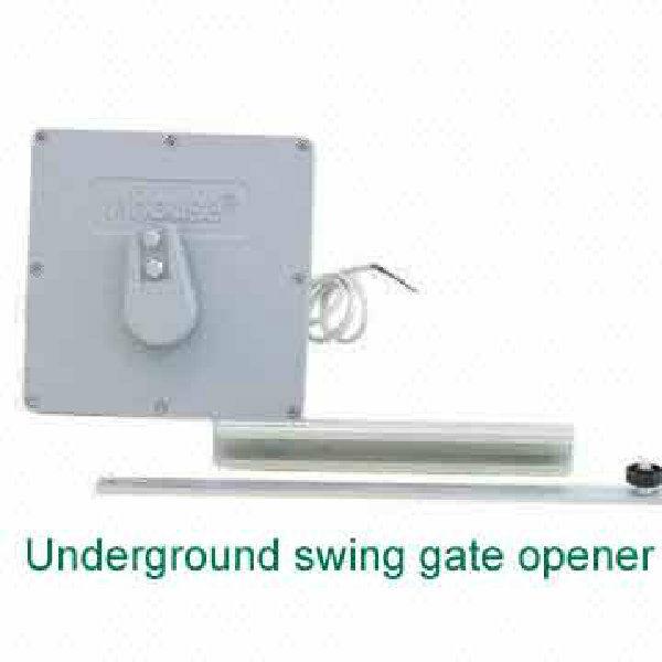Dc v piston type underground swing gate opener motor