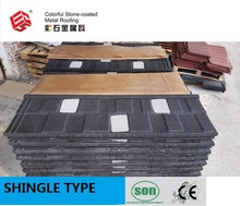 Stone Coated Metal Roofing Tile / Stone Chip Coated Metal Roofing Tile Soncap