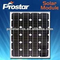 high quality mono-crystalline silicon solar panel 70w