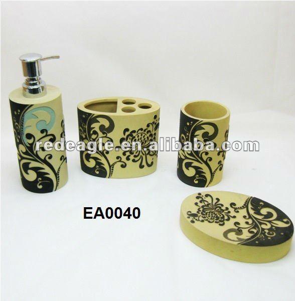 Set De Baño Souvenirs:ea0040 cuadros decorativos para cuarto de baño-Artesanías de Resina