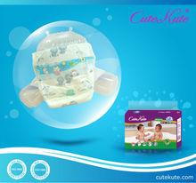 Cute Kute baby diaper made in China -- own brand