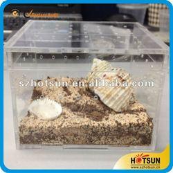 acrylic pet box /PMMA animal cage