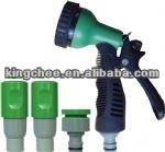 5 pattern plastic watering nozzle/hose nozzle