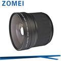 52mm 0.21x fisheye objektiv mit makro objektiv für canon eos 18-55mm m