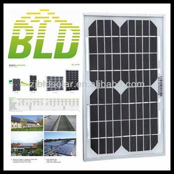 10W MONO solar panel