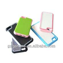 Silicone and PC iphone mobilephone cover for 5g cover