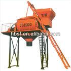 44 years manufacture large capacity 1000L JS1000 portable Concrete Mixer