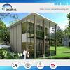 Steel prefabricated luxury villa