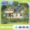 luxury prefab house building prefabricated villa for family