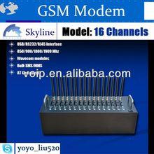 Linux support gsm modem pool TCP IP GPRS wavecom gsm quad band 850/900/1800/1900mhz gprs edge
