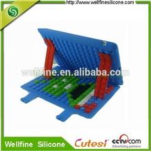 Blocks design tablet PC silicone case