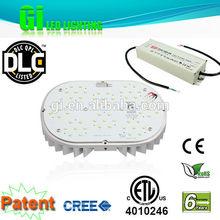 Top quality DLC UL CUL listed 6 years warranty energy saving LED solar street lighting retrofit kit