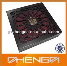 High quality Arabic Laser Engraved Box Display Wood Box