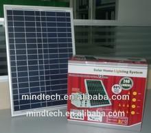20watt 12v solar panel portable solar lighting kit low cost