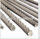 6x19 fc galvanized steel wire ropes