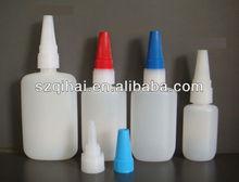 Empty 50ml HDPE Cyanoacrylate Adhesive & Super Glue Plastic bottles JB-001