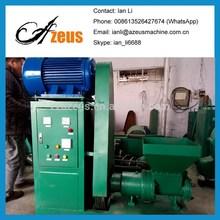 Wood sawdust briquette machine for charcoal production line