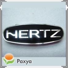 Aluminum metal logo nameplates