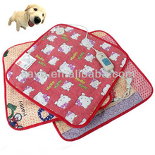 E025 Colorful Electronic Keep Warmer Pet Dog Cat Mat with Light Button Control Used in Winter Pads Factory Produce