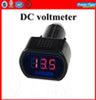 12V/24V Digital DC Voltmeter LED Auto Car/Truck Digital Voltmeter Gauge