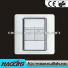 2013 flat plate waterproof light switch cover