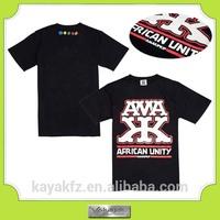 Custom HD rubber printing t shirt manufacturing