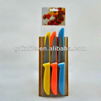 High quality 6pcs stainless steel paring knife,fruit knife