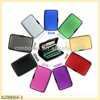 Secure Credit Card Wallet With Aluminium