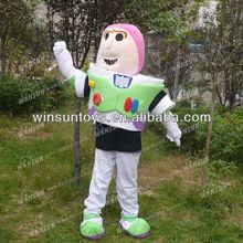super 2013 buzz lightyear traje de la mascota
