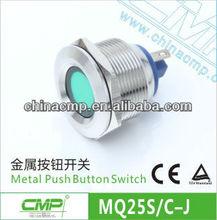 CMP 12v Waterproof LED Lights,2 Legs Terminal Indicator Light (dia:25mm)