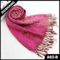 A82-b signora sciarpa dolce stampa leopardo sciarpa di modo