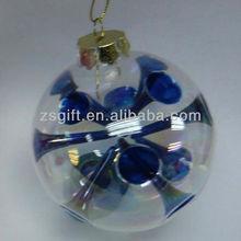 fashionable handicrafts glass ball christmas decorations