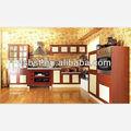 ak68 cozinha em madeira maciça porta de vidro deslizante do armário de cozinha armário de cozinha portas de vidro