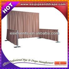 ESI wedding event supplies portable fabric backdrop decor pipe and drape