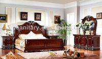 2015 new design antique bedroom furniture FU2013195