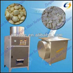 2013 compact design garlic peeling & slicing machine in china 86-15093184608