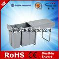 armário de cozinha resíduos bin resíduos segregados bin