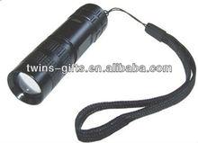Zoom focus aluminum 5w cree led power style flashlight