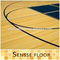 Portable professionnel de basket - ball de sport judiciaires plancher