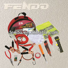 Car Emergency tool kit with hand tool bag