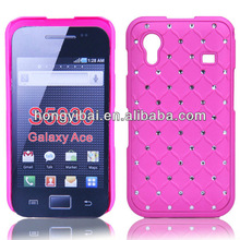 Fashion new design galaxy shining rhinestone PC phone shell phone cover for s5830