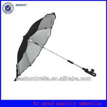16inch Dark blue clamp on umbrella for Walker