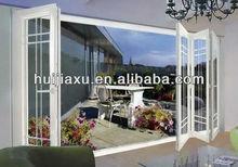 Balcony aluminum glass folding