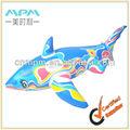 Giocattoli gonfiabili del pvc, gonfiabile balena blu