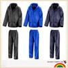 Adult large sizes waterproof jacket+trousers suit rainsuit