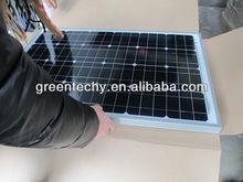 monocrystalline solar panel 50w for home use