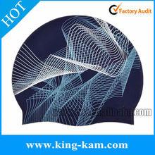 ear protection silicone swim cap