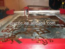CNC cutter steel punch holes advertisement plasma cutter