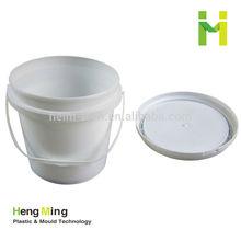 1 gallon food grade plastic clear drum bucket